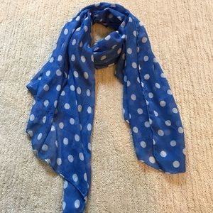 Accessories - POLKA DOT LIGHT-WEIGHT SCARF